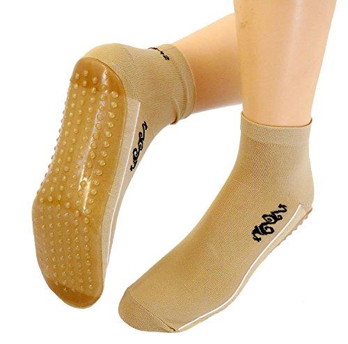Damen Beach Wattwandern Socken Tattoo, Farben alle:beige;Größe:35/38