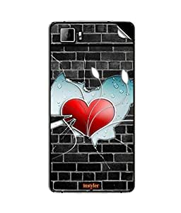 instyler MOBILE STICKER FOR MICROMAX CANVAS FIRE 3A096