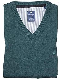 Redmond Pullover V-Neck aus 100% Baumwolle (600) in Verschiedenen Farben 342443021c