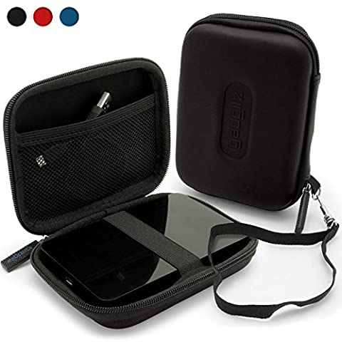 iGadgitz Black EVA Hard Travel Case Cover for Western Digital