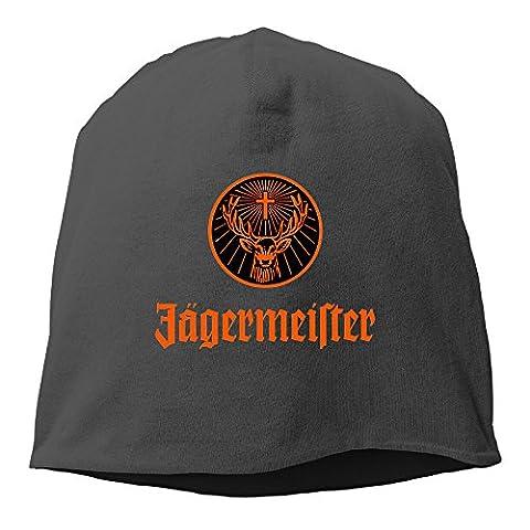 SUNpp Jagermeister Logo Winter Knit Cap Beanie Cap Skull Cap For Unisex