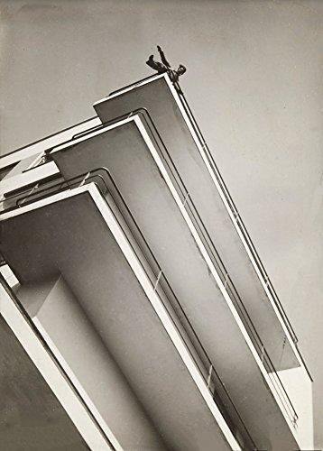 Preisvergleich Produktbild László Moholy-Nagy 'Bauhaus Balkone',  1926,  250 g / m²,  glänzend,  Kunstdruck,  A3,  Reproduktion