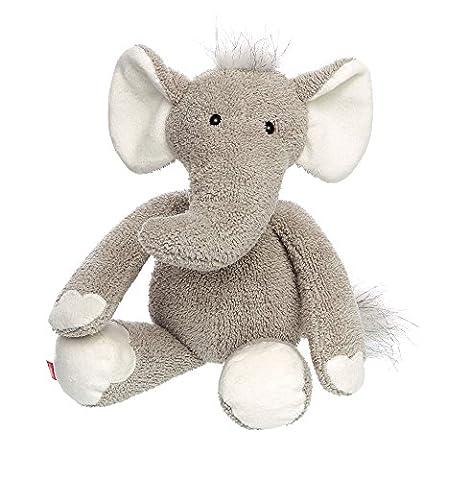 Sigikid 38507 - Mädchen und Jungen, Stofftier Elefant Sweety, grau