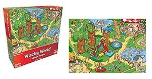 Goliath Toys 71403 Wacky World Playground - Juego de Mesa (Contenido en alemán)