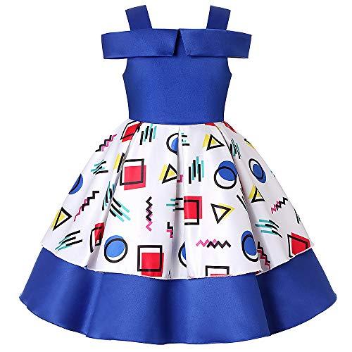 Wenzhihua Kleinkind Kinder Party Kleider Mädchen Kostüm Prinzessin -