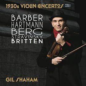 1930s violin Concertos - Volume 1