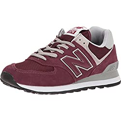 New Balance 574v2, Zapatillas para Mujer, Rojo (Burgundy/White Er), 36.5 EU