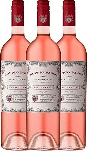 3er-Paket-Doppio-Passo-Rosato-IGT-Puglia-2016-CVCB-halbtrockener-Roswein-italienischer-Sommerwein-aus-Apulien-3-x-075-Liter