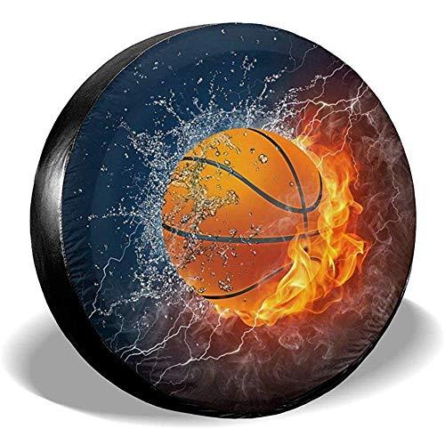 Hiram Cotton Coperchio Ruota di scorta Basket su Fuoco e Ruota Ruota Acqua 14-17 Po