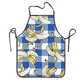 Funny DIY Kochschürze, Cartoon, Bananenmotiv, wasserdicht, für Koch, Bäcker, Server BBQ, Handwerk, für Männer oder Frauen, 50,8 x 71,1 cm