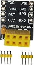 Homyl ESP-01 / ESP-01S Steckbrett Adapter mit 2 Stück 4-polige Stecker für ESP8266