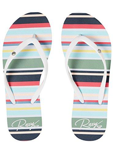 Roxy Portofino II, Infradito Donna Blanc - White/Multi