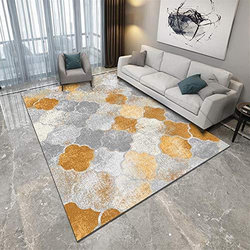 Ommda Alfombras Modernas Salon Dormitorios 3D Geometricas Grandes Rectángulo Antideslizante Habitacion...