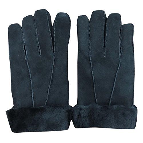 Preisvergleich Produktbild Unisex Winter-Handschuhe,  Schafleder,  mit Manschette