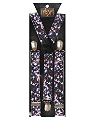 Tiekart men multi suspenders