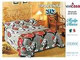 Trapunta 3D Digitale MARILYN MONROE Misura: 1 Piazza ( singolo) 170 x 260 cm Composizione: 100%microfibra Imbottitura : 100% polyestere