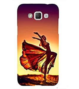 Dancing Elegant Girl 3D Hard Polycarbonate Designer Back Case Cover for Samsung Galaxy Grand 3