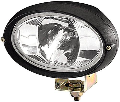 HELLA 1GA 996 161-281 Arbeitsscheinwerfer Oval 100 FF für weitreichende Ausleuchtung, Anbau, Halogen,12V