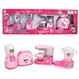 #9: Kitchen Utility Household 4 in 1 Appliances Battery Operated Play Set with Light & Sound for Kids