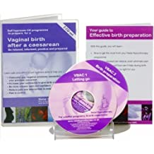 Effective Preparation for a Vaginal Birth After Caesarean: A Self Hypnosis CD Programme to Prepare to be Relaxed, Informed, Positive and Prepared (Natal Hypnotherapy Programme) by Howell, Maggie on 29/06/2005 VBAC edition