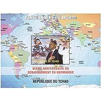 Personaggi di un mondo, presidente degli Stati Uniti Barack Obama foglio di menta timbro, un'ottima (Francobolli Washington)
