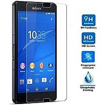 Protector de Pantalla para Sony Xperia Z3 Mini Compact Cristal Vidrio Templado Premium, Electrónica Rey®