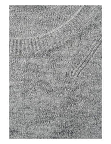 Street One, Pull Femme Grau (Cyber Grey Melange 10767)