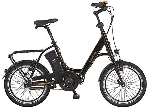 "Prophete E-Bike Alu-Kompaktrad, NAVIGATOR Compact Caravan 20\"", AEG EcoDrive C Mittelmotor, 36V, 250 W, max. 50 Nm, SAMSUNG SideClick Lithium-Ionen, 36V,10,4 Ah (374Wh), 46cm RH"