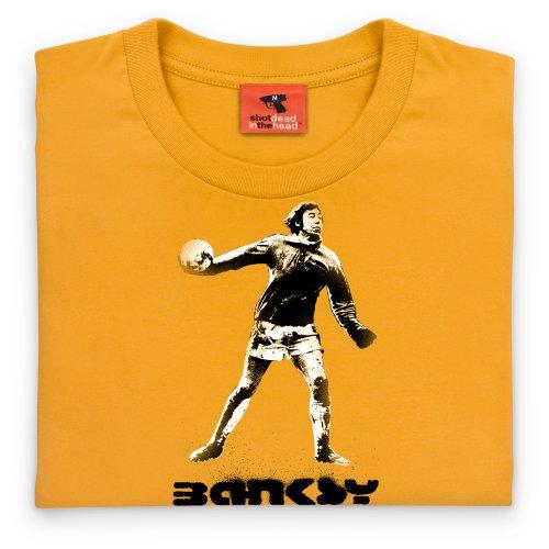 Banksy Legend T-Shirt, Herren Gelb