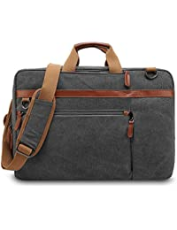 a5946279ea437 UtoteBag Umwandelbar Laptoptasche Laptop Schultertasche Umhängetasche  Segeltuch Messenger Bag Businesstasche Dienstreise…
