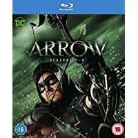 Arrow Seasons 1 to 4 on Blu-Ray