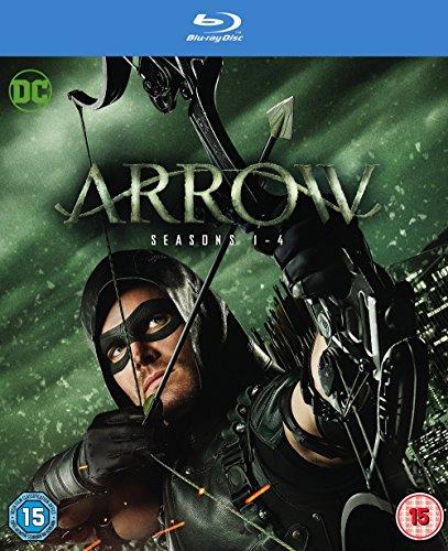 Arrow - Season 1-4 (2 Blu-Ray) [Edizione: Regno Unito]