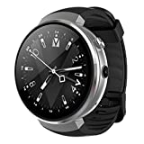 Lemfo Lem7 Montre Intelligente - Android 7.0 MP Caméra Montre téléphone 16 Go de ROM Intégré Translator Bluetooth/GPS/Moniteur de fréquence Cardiaque Sports Montre Intelligente pour Android iOS