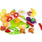 Küchenspielzeug Set, Teckpeak 19 Stücke Kinder-Rollenspiele Lebensmittel Spielzeug Kinder Spiel-Lebensmittel Set