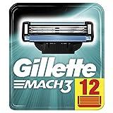 Gillette Mach3 Yedek Tıraş Bıçağı 12'li