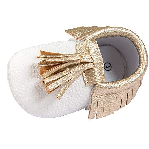 koperras EingesäUmte Babyschuhe Weichen Boden rutschfeste Kleinkindschuhe Weichen Boden Babyschuhe Pu Gold Mode Wilde Show LäSsig Billig