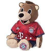 FC Bayern München BERNI 35 cm im brandneuen Trikot 2017/18 - FCB - plus gratis Aufkleber forever München