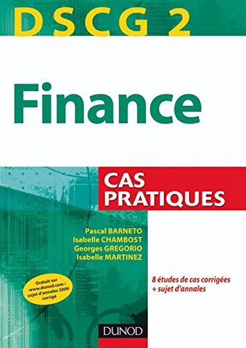 DSCG 2 - Finance : Cas pratiques (DSCG 2...
