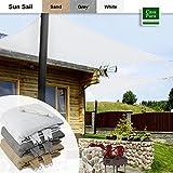 Casa Pura®–Garten Schatten, Sonnensegel Vordach, Rechteck, 3x 5m, Beige