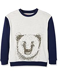 RED WAGON Animal Graphic Sweat, Sudadera Para Niños