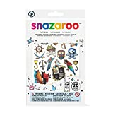Snazaroo Kinder Tattoo Set'Piraten - Jungen', 20 Kindertattoos mit Piratenmotiven