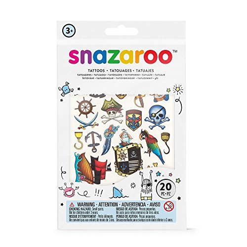 Kids Piraten Make Up (Snazaroo Kinder Tattoo Set