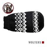 Wolters Norweger Pullover für Mops&Co 35cm schwarz/weiss