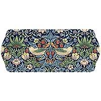 Pimpernel Bandeja para sándwiches, con diseño de fresas, azul, multicolor, de la marca