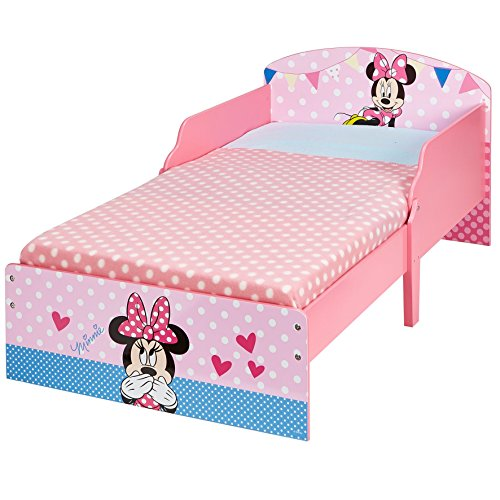 Disney 454MIS - Cama infantil con diseño de Minnie Mouse, color rosa