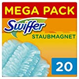 Swiffer Staubmagnet Tücher Nachfüllpackung, 3er Pack (3 x 20 stück)