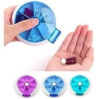 Milopon Pillenbox 7 Tage Tablettenbox Pillendose Tablettendose Medikamentenbox Vitamine Medizin Tablet Organizer... preisvergleich bei billige-tabletten.eu