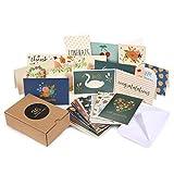 36Stück sortiert alle Gelegenheit Grußkarten-inklusive Happy Birthday, Congratulations, Mitgefühl, Hello, Thank You Karten-Bulk Box Set VARIETY PACK mit Umschläge enthalten-10,2x 15,2cm