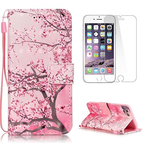 2b229474af1 CaseHome for iPhone 6 Plus  6S Plus (5.5 Pouce) Housse Coque Cuir Folio