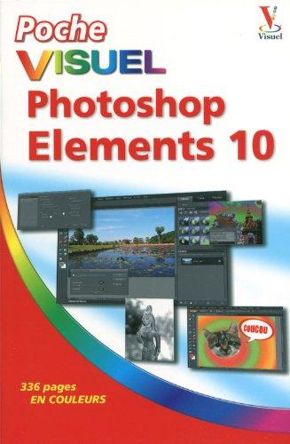 Poche Visuel Photoshop Elements 10 par Mike WOOLDRIDGE